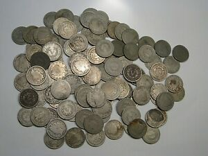 """100 LIBERTY """"V"""" Nickels Cull to Good.  #41"""