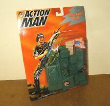 VERY RARE Modern ACTION MAN - MAM - HASBRO 1995- RAPID FIRE MILITARY BASE carded