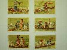 LIEBIG SET OF 6 TRADE CARDS-N° 100-O4N-S55710