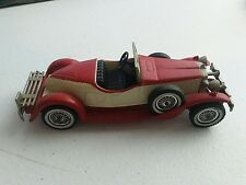 Matchbox Models of Yesteryear Collection 1931 Stutz Bearcat Red