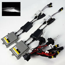 9004-2/HB1-2 6000K White Xenon 55W Canbus Ballast HID Kit Hi/Low Beam Headlights