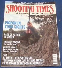 SHOOTING TIMES MAGAZINE MAY 23-29 1991 - PIGEON IN YOUR SIGHTS