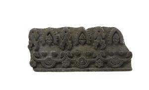 Antique Bunta Stamped Wood Printing Fabric Textile Batik Rajasthan India NP17C1