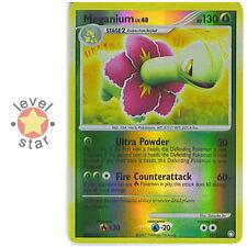 MEGANIUM Mysterious Treasures 13/123 Reverse Holo Rare Shiny Pokemon Card