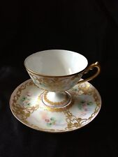 European Old Paris ? French Footed Cup & Saucer
