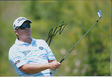 George COETZEE SIGNED Autograph 12x8 Photo AFTAL COA Sunshine Golf TOUR Winner