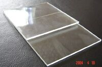 1pcs Double Sided Polishing JGS1 Fused Silica Quartz Glass Sheet 50*50*1mm