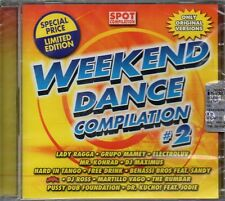 WEEKEND DANCE COMPILATION # 2 - CD (NUOVO SIGILLATO)
