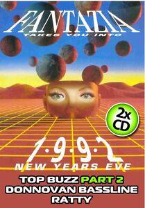 Fantazia – New Years Eve 1992 – Top Buzz Part 2 / Donnovan Bassline / Ratty