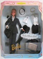 1997 Millicent Roberts  LE Pinstripe Power  Barbie Giftset--19791