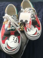 "Vans Disney Era Mickey Mouse and Friends Woman's Size 7 RETIRED ""NEW"""