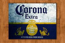 CORONA EXTRA vintage style ADVERTISING METAL SIGN TIN PUB BAR HOME BAR MAN CAVE
