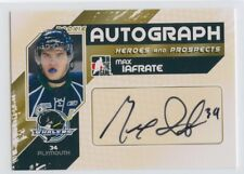 10/11 ITG HEROES & PROSPECTS AUTOGRAPH AUTO MAX IAFRATE WHALERS *52309