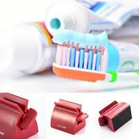 Rolling Tube Toothpaste Squeezer Toothpaste Easy Dispenser Stand Seat Holder NEW
