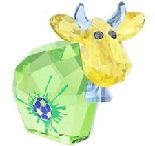 Swarovski Soccer Champion Mo, Lt. Ed. 2014 Cow Bull Crystal Figurine