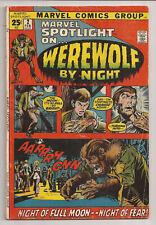 Marvel Spotlight #2 (1972) VG+ 1st Werewolf by Night