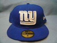 New Era 59fifty New York Football Giants On Field FITTED BRAND NEW cap hat NY