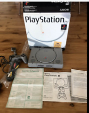 Sony PlayStation 1, PS1 Console (SCPH-1001) CompleteRare (open box) white box