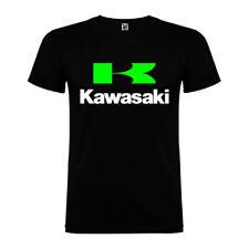 Camiseta Tipo Kawasaki para Hombre y Mujer de Verano Moto Racing Kawa z900 z800