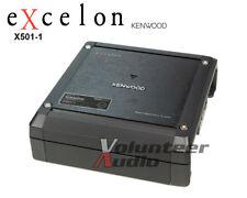 Kenwood Excelon X501-1 Class D Mono Amplifier 1000 Watt max 500 Watt RMS Amp