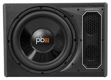 """POWERBASS PS-AWB121 12"""" 200w RMS Loaded Powered Subwoofer Sub Box Enclosure"""