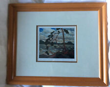 The West Wind - Tom Thomson FRAMED print 5.5 x 6.5 inches