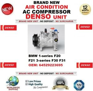 DENSO AIR CONDITION COMPRESSOR BMW 1-series F20 F21 3-series F30 F31 64529223695