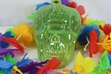 Skull Cyclopes Tiki Mug Green Golden Tiki Las Vegas Thor Tiki Farm 2017 22 oz