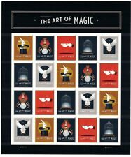 The Art Magic Sheet of 20 Forever Stamps Scott 5305