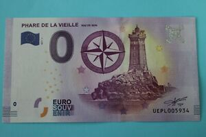 BILLET 0 EURO SOUVENIR  2017 PHARE DE LA VIEILLE