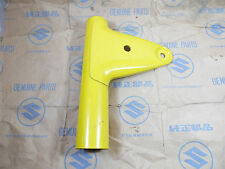 Suzuki A100 AX100 A100X Front Fork Cover Right Yellow NOS Genuine