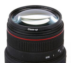 Makro +4 Nahlinse Close Up  55mm Filtergewinde
