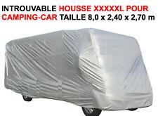 RARE HOUSSE XXXXXL SPECIALE GRANDS CAMPING CAR CARAVANE CAMION! LONGUEUR 8M !!!