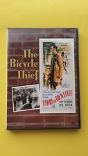 The Bicycle Thief Vintage Black And White With Dubbed English / Subtitles Rare