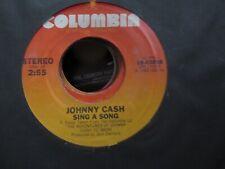 JOHNNY CASH, Georgia On A Fast Train USA 45