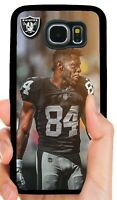 ANTONIO BROWN RAIDERS PHONE CASE FOR SAMSUNG NOTE GALAXY S5 S6 S7 EDGE S8 S9 S10