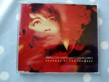 Françoise Hardy & Malcolm McLaren Revenge Of The Flowers 3 Track CD