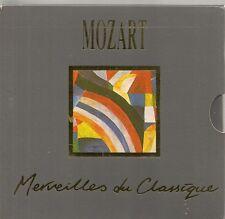 COFFRET 5 CD CLASSIQUE--MOZART--MERVEILLES DU CLASSIQUE