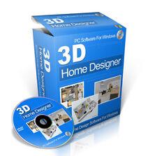 3D Home Design Planning for Kitchen Bathroom Software Disc