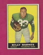 1961 TOPPS # 97 EAGLES BILLY BARNES  EX-MT CARD (INV# A4116)