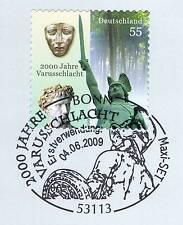BRD 2009: Varusschlacht! Selbstklebende Nr. 2741 mit Bonner Stempel! 1A! 1512