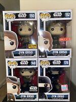 Star Wars Rogue One Funko Pop Lot 9 exclusive pops