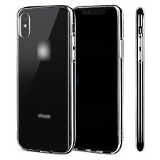 For Apple iPhone 6 6S 7 8 Plus X Case Crystal Clear Slim Light Shockproof Cover