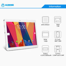 """10.1"""" Tablet PC Cube T12 3G Smartphone Android 6.0 1G+16G 800*1280 G-Sensor"""