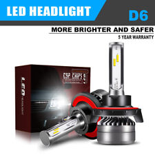 H13 9008 CSP LED Headlight Bulb Conversion Kit Hi/Low Beam 6000K White Kit LXK