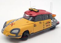 Norev 1/43 Scale Motor Car PM0105 - Citroen DS Taxi 2015 - Yellow