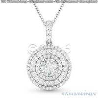 Fairy 1.68 ct Off White Yellow Real Moissanite .925 Sterling Silver Pendant D01