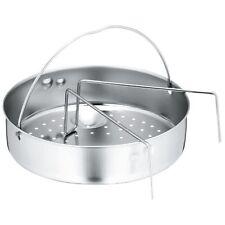 WMF Zubehör Schnellkochtopf-Einsatz-Set 2-teilig Ø 22cm gelochter Einsat
