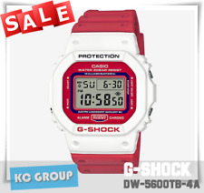 BRAND NEW WITH TAG G-Shock 200 WHITE X RED, Resin Strap, DW5600TB-4A