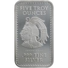 Lingotes y monedas de plata 5 oz